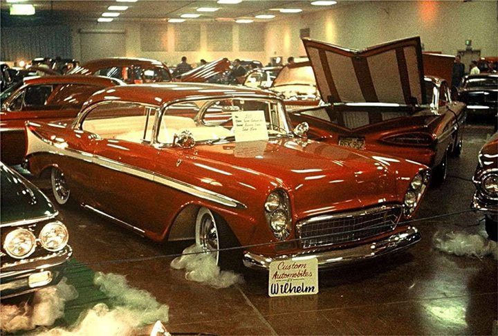 A Beautiful Photo Of Jack Snyder S 1956 Chevrolet Jack S Chevrolet Was Restyled By Joe Wilhelm At Wilhelm S Custom Shop In San Jose Cali Car Show Car Hot Rods