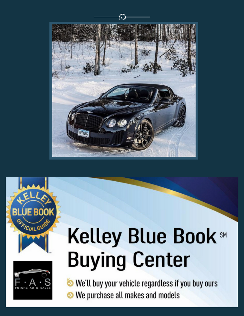 Did you know we are a KBB Buying Center? Bring your vehicle in and ...
