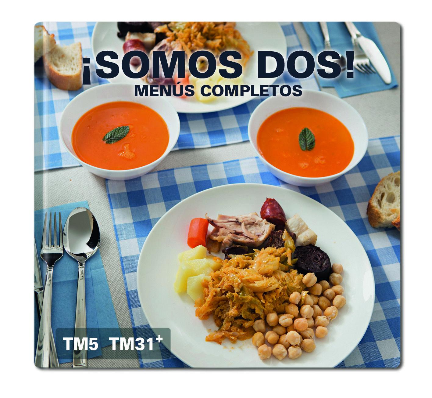 Nueva Coleccion De Recetas Somos Dos Menus Completos El Blog Oficial De Thermomix Espana Libro De Cocina Menu Recetas