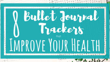 8 Bullet Journal Trackers to Improve Your Health #mentalhealthjournal 5 Ways Bullet Journals Improve Mental Health - Planning Mindfully #mentalhealthjournal