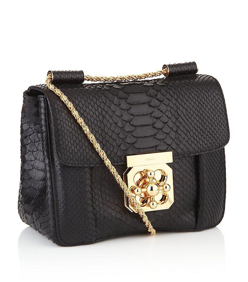 342652a99c1f Chloe Elsie Python Shoulder Bag