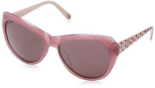 mujer sol Moschino Ml538s Cateye marco rosa multicolor de lente Love para con Gafas de H8qgxwT5