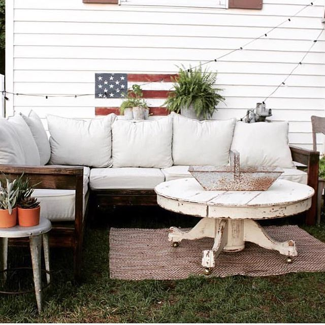 """""""This backyard project turned out better than I ever imagined!"""" - @reprize.designs, saving pillows and DIY design ideas on Pinterest"""
