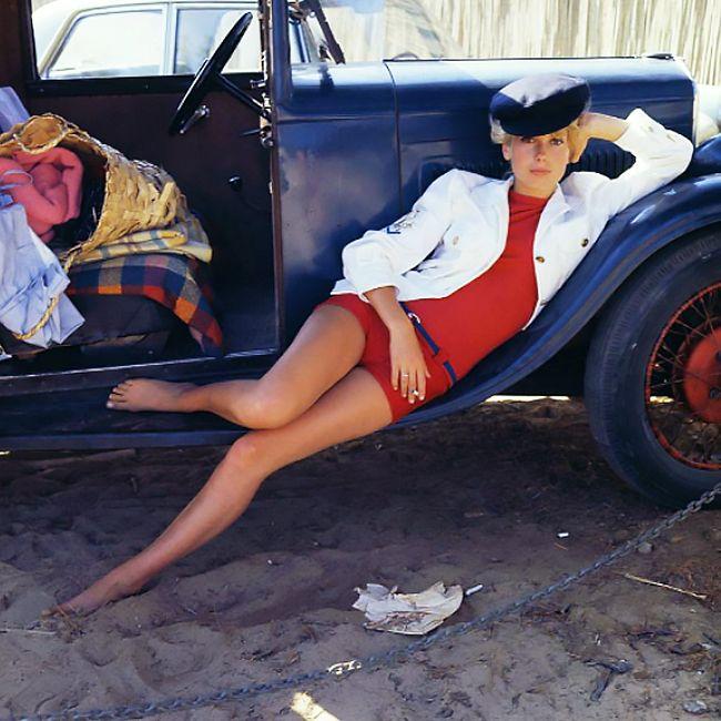 Catherine Deneuve / photo by Milton Greene, 1962.
