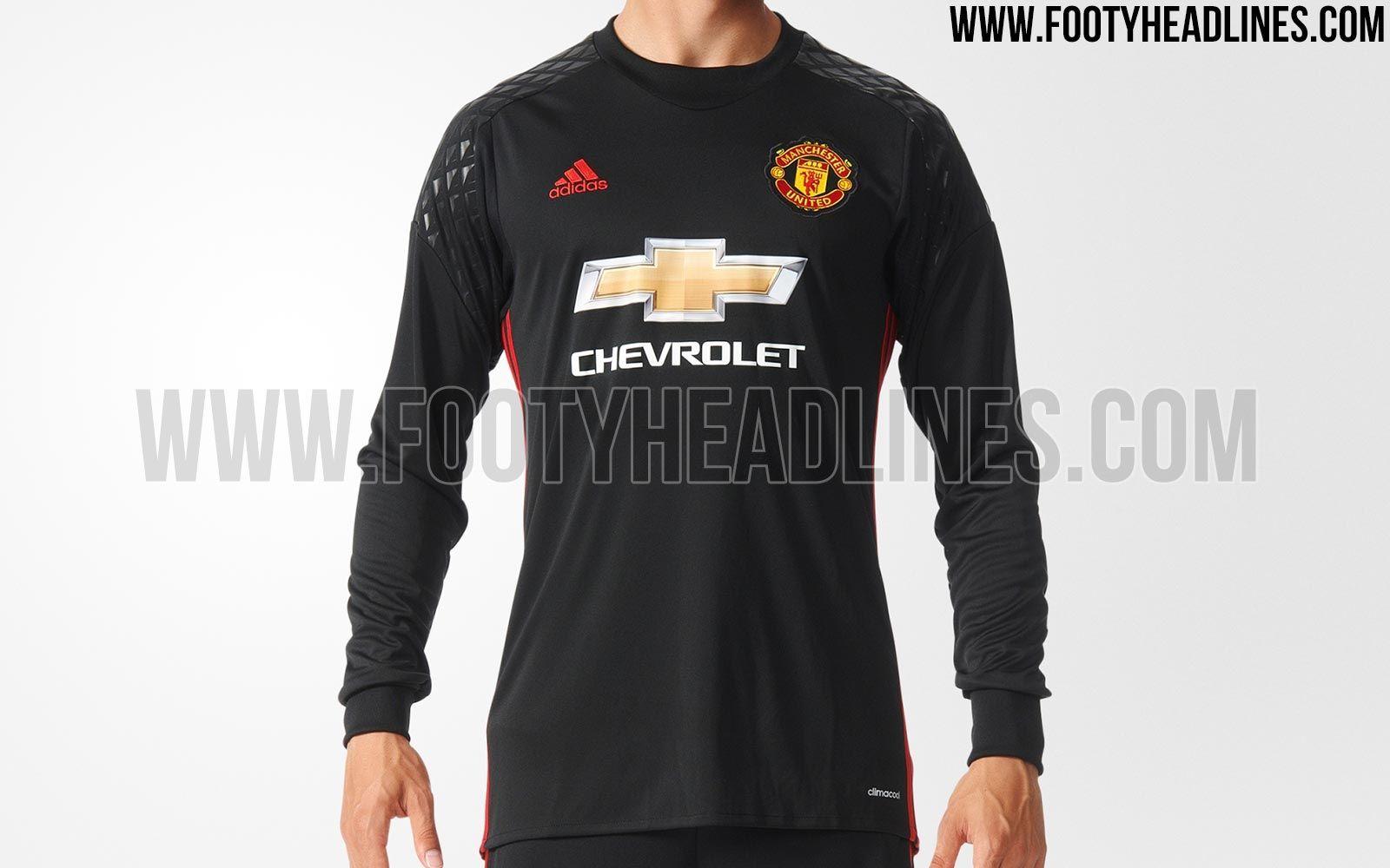 76f4c20dd09 Manchester United 16-17 Goalkeeper Kit Leaked - Footy Headlines ...