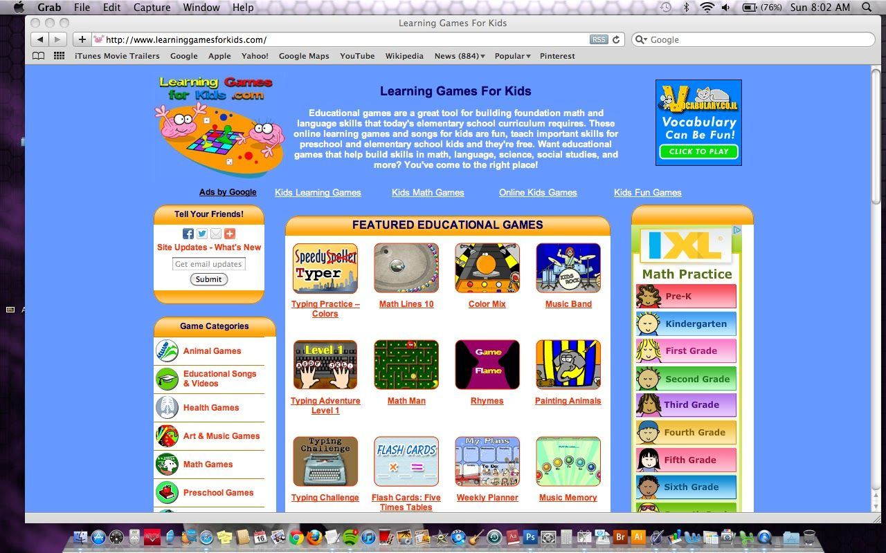 Top 10 FREE Educational Computer Games for Kids Computer