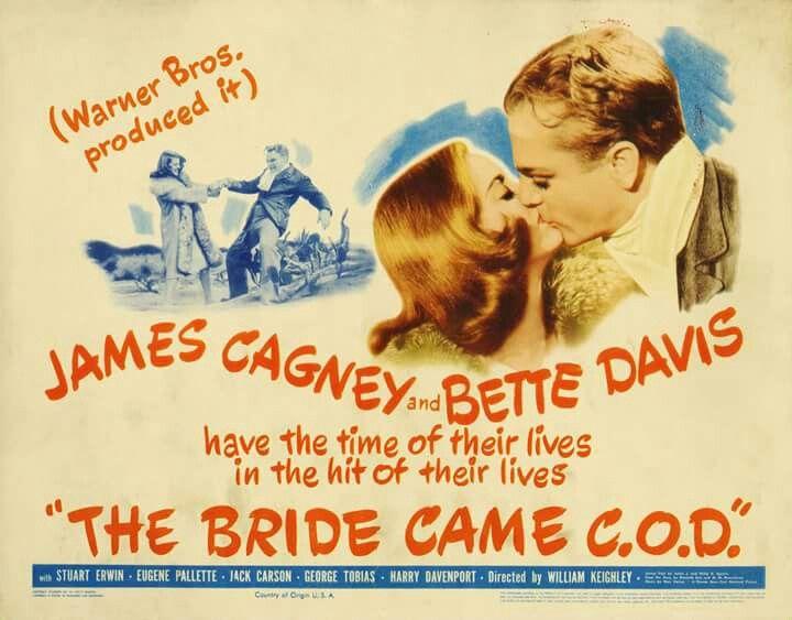 The Bride Came C.O.D. (1941) James Cagney, Bette Davis