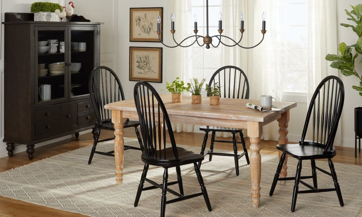 Black dining room furniture ideas good enough to eat