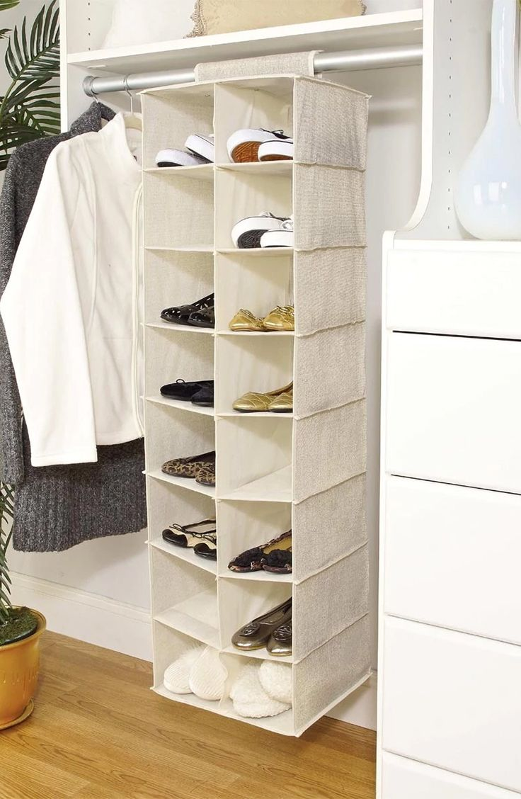 Home Storage Solutions | Closet doors, Shoe rack and Storage ideas