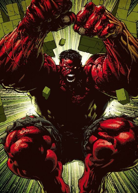 Red Hulk Movies Poster Print | metal posters | Red hulk ...