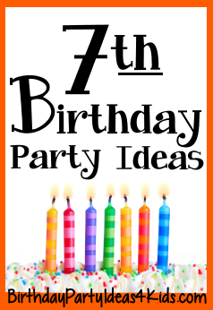 th birthday party ideas for seven year olds also parties in rh pinterest