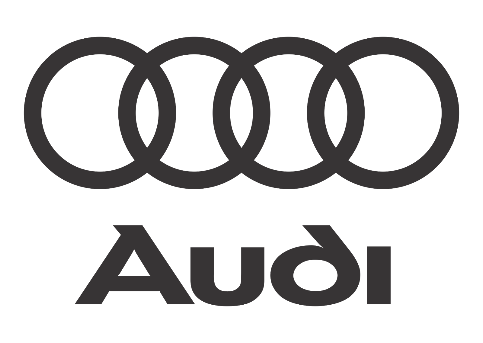 Audi Logo Vector Black White Vector Logo Download