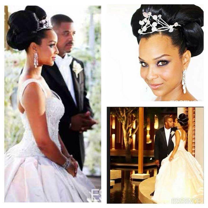 Niceee Lisa Raye Wedding Wedding Dress With Veil Bride