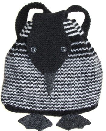 Morehouse Farm Loon Backpack Knitting Kit I Bet This Could Be