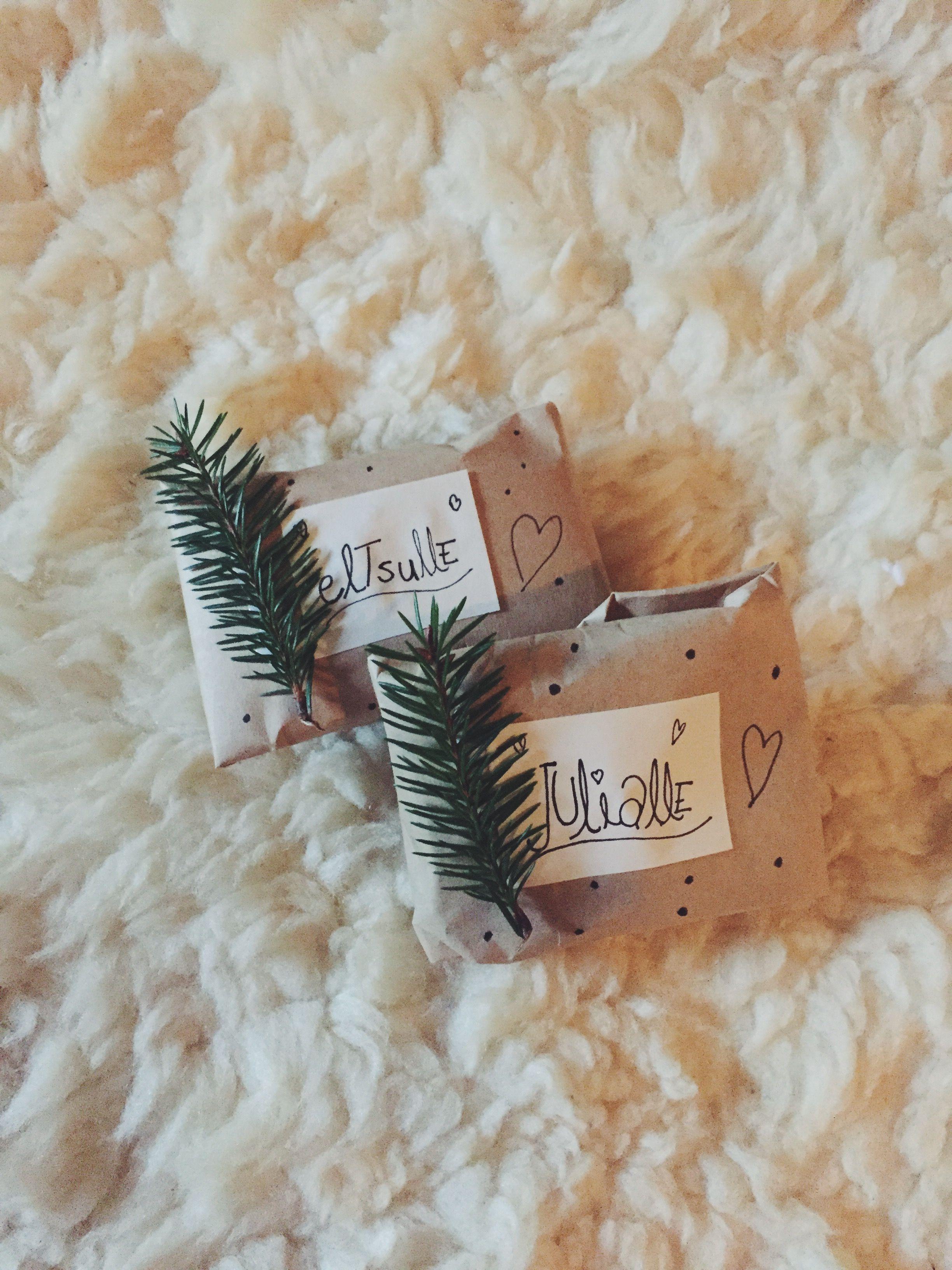 Hienot pikku lahjapaketit