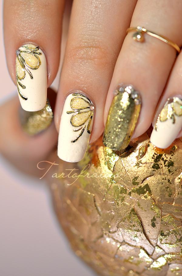 nail art gel foil | Köröm | Pinterest | Manicure