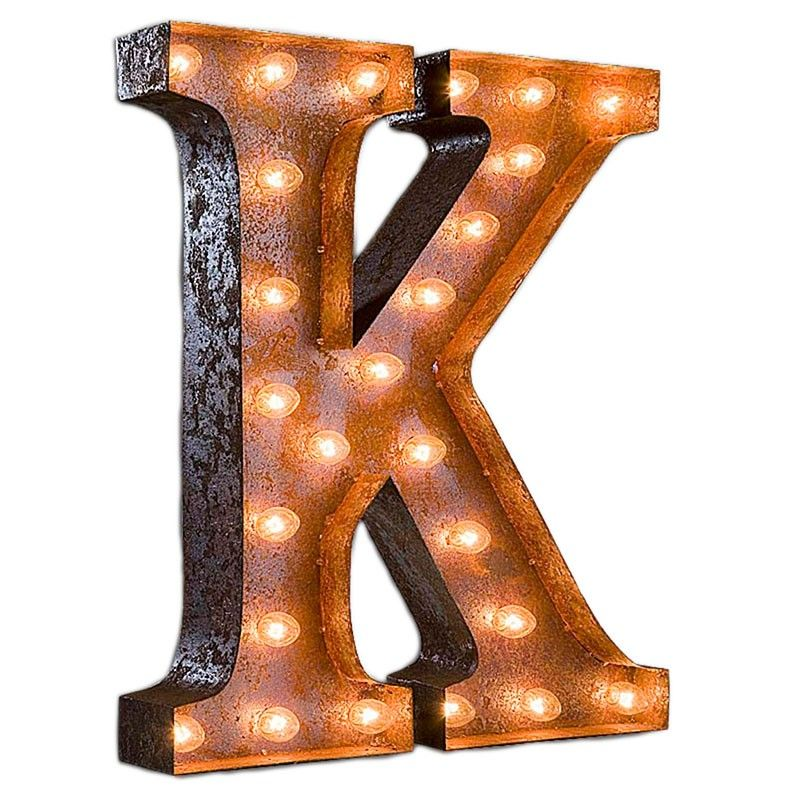 Vintage Marquee Lights K Vintage Marquee Light Pure Home Leuchtbuchstaben Lichtbuchstaben Ideen