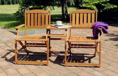 Balkon Sitz Kombination Mit Klapptisch Patentiertes Modell Aus
