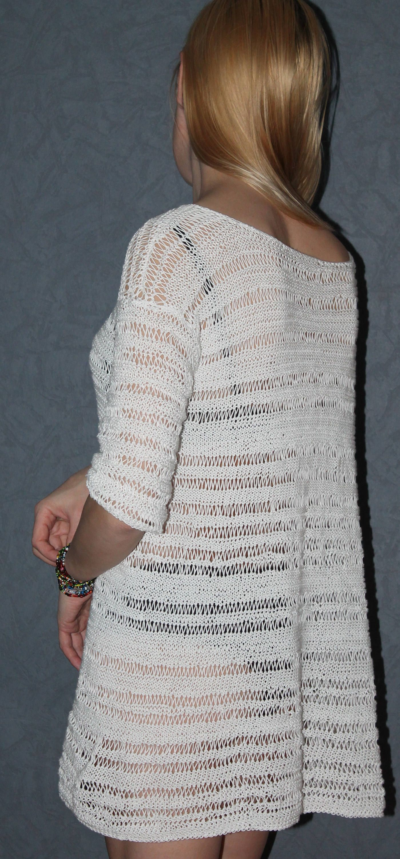 White Beach Dress/Summer Sweater/Loose Jumper/Oversized Sweater ...