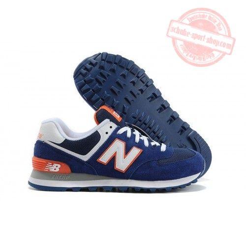 new balance 574 blau weiß