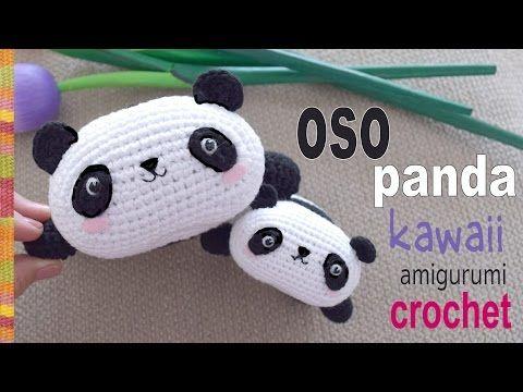 Tejido Amigurumi Tutorial : Oso panda kawaii tejido a crochet amigurumi tejiendo perú
