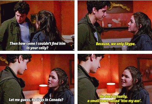 """[SET OF GIFS] """"I have a boyfriend."""" 8x18 Freaks and Geeks"""