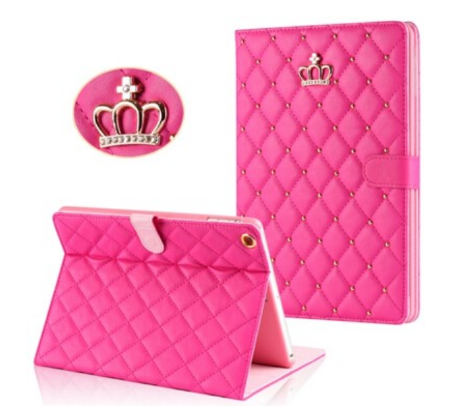 ipad pro bling filp cover rhinestone cases for girls for ipad pro