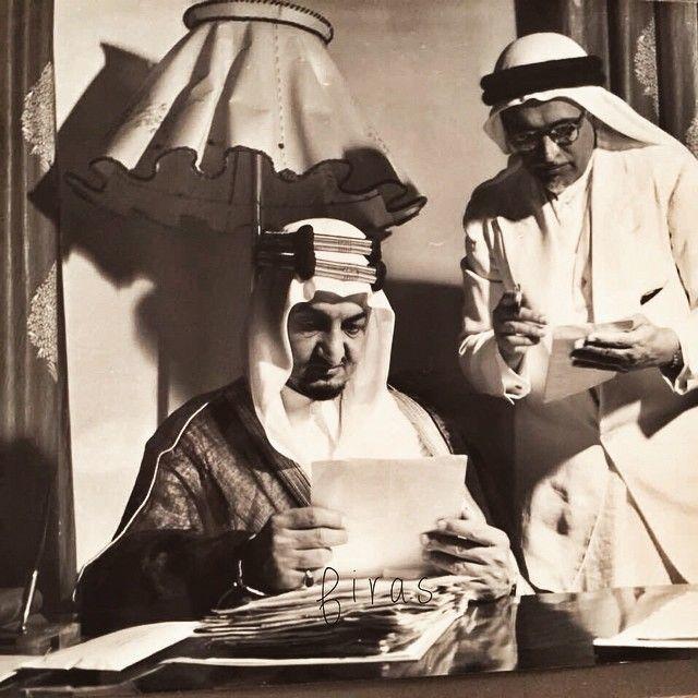 الملك فيصل رحمه الله King Faisal Ancient Art King Queen Princess
