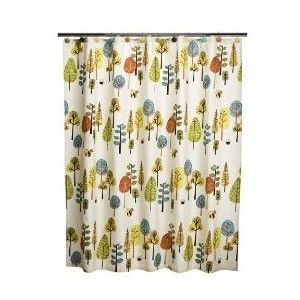I Made Window Curtains Out Of Two These Adorable Shower From Target