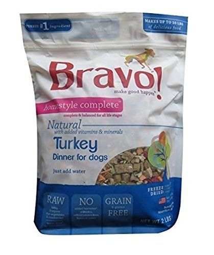 Bravo Homestyle Freeze Dried Turkey Dinner For Dogs 6lb Big Bag Makes Up To 30lbs Of Raw Dog Raw Dog Food Recipes Dog Food Recipes Turkey Recipes
