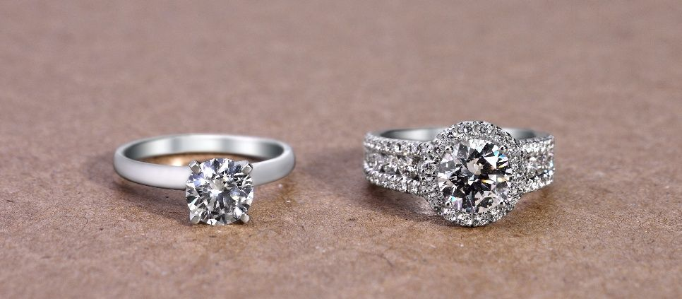 7 Ways To Reset Diamond Rings For A New Look Original Engagement Rings Wedding Ring Redesign Real Engagement Rings