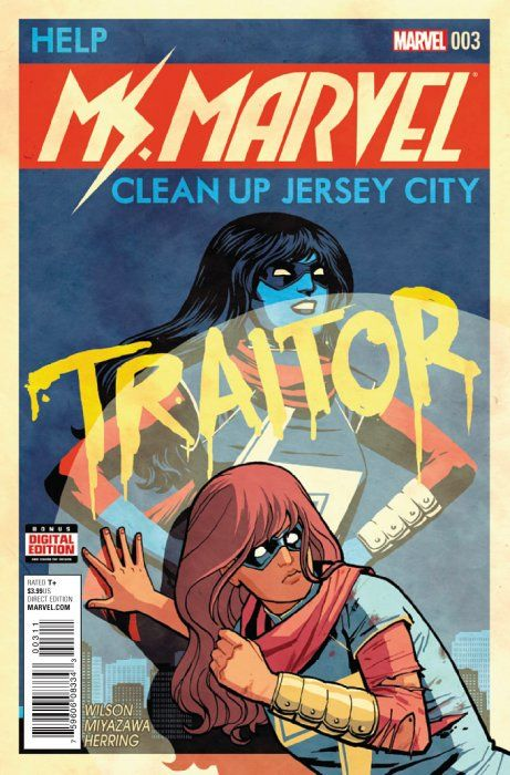Ms Marvel Issue 3