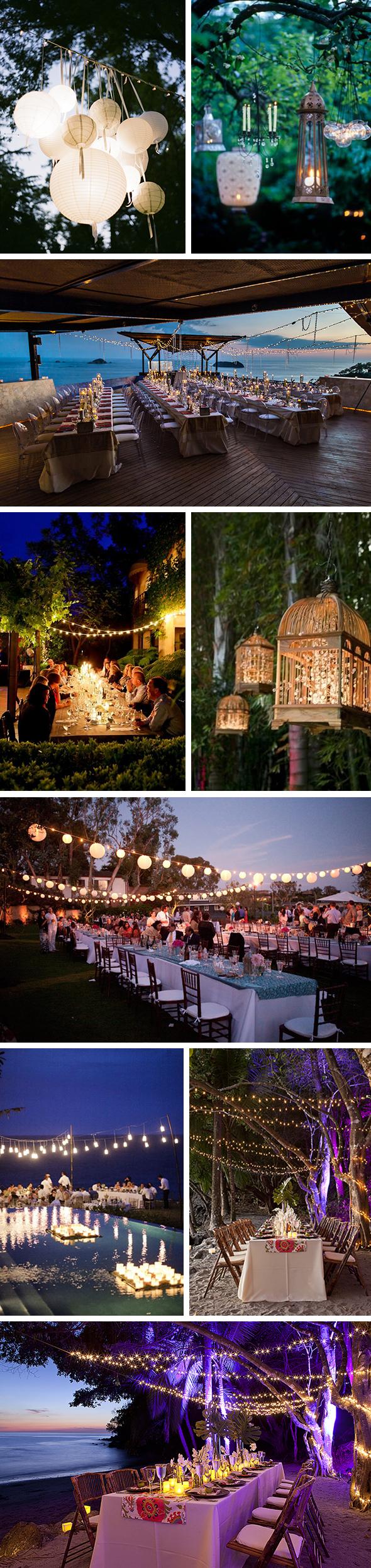 Wedding Lighting Ideas Add The Passion With Lighting Glow Sticks