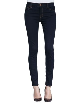 811 Ink Mid-Rise Skinny Jeans by J Brand Jeans at Neiman Marcus.