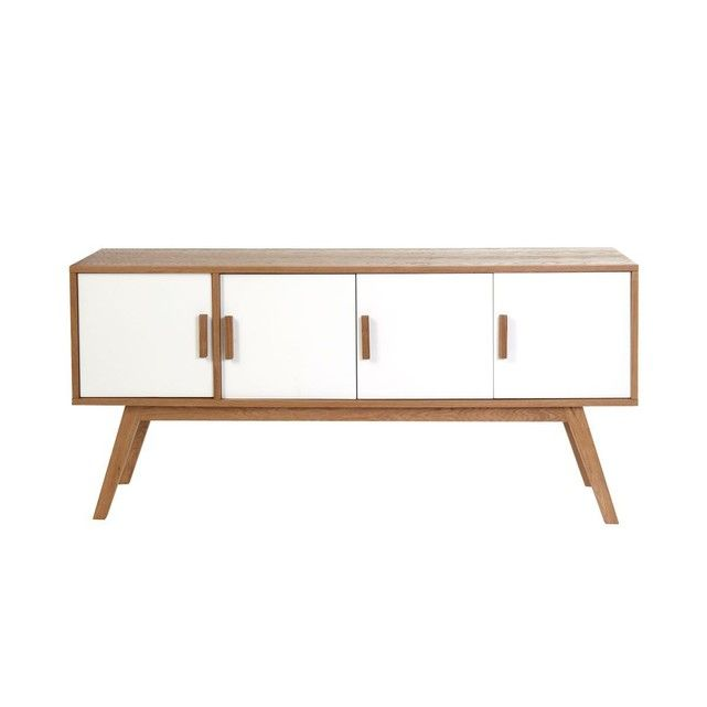 Buffet Scandinave 4 Portes Helia Buffet Bois Buffet Design Mobilier De Salon