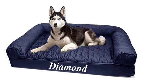 Personalized Dog Sofa Large Dog Bed Extra Large Dog Bed Jumbo Dog Bed Small Dog Bed Custom Dog Bed With Images Dog Sofa Dog Bed Large Extra Large Dog Bed