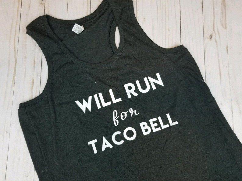 crunches? I thought you said crunchwrap Taco bell shirt