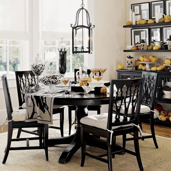 Modern Black White Dining Room Ideas 2014  Dining Area Alluring 2014 Dining Room Colors Inspiration