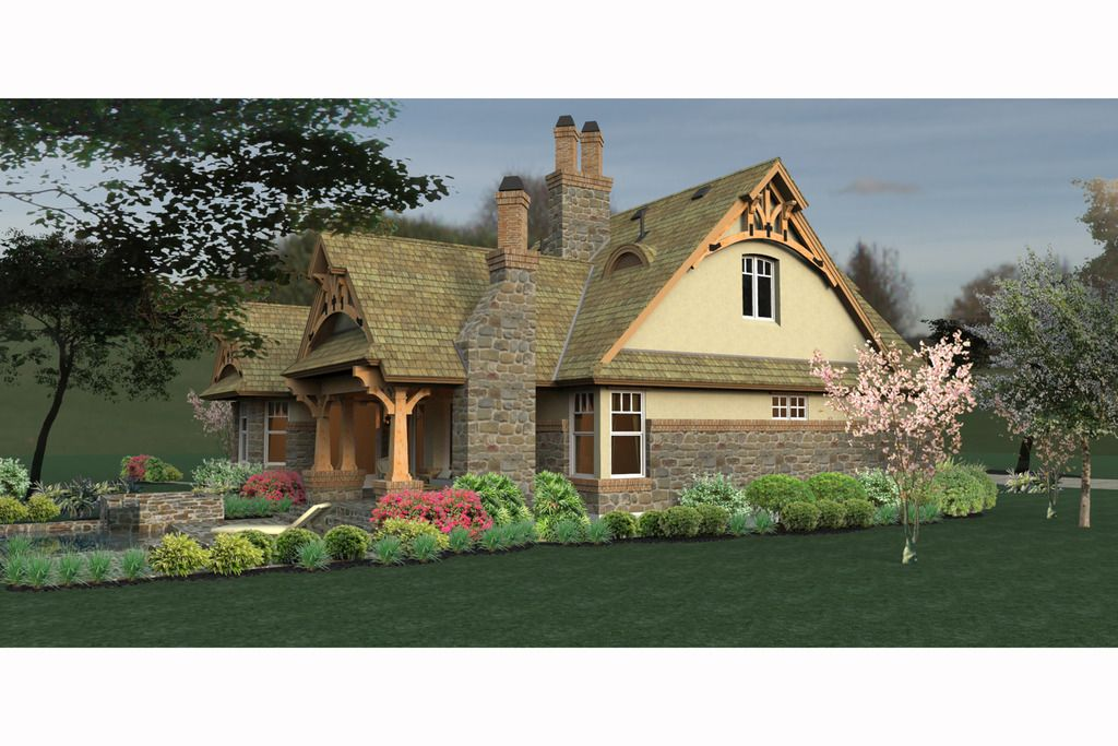 Plan #120-174 - Houseplans.com   special houses   Pinterest ...