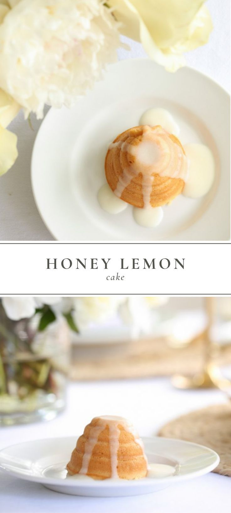 Honey Lemon Cake Recipe This honey lemon cake is just as simple and beautiful, without any addition