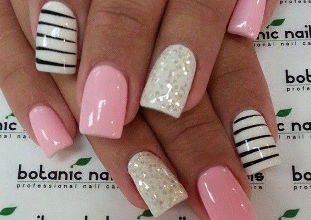 Uñas Decoradas Modelos Sencillos Para Copiar Beauty Pinterest