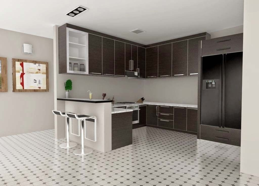 Kitchen Set Minimalist Kitchen Set Design Home Decor Ideas