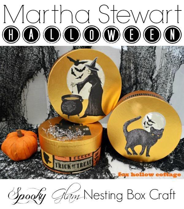 Martha Stewart Halloween Craft