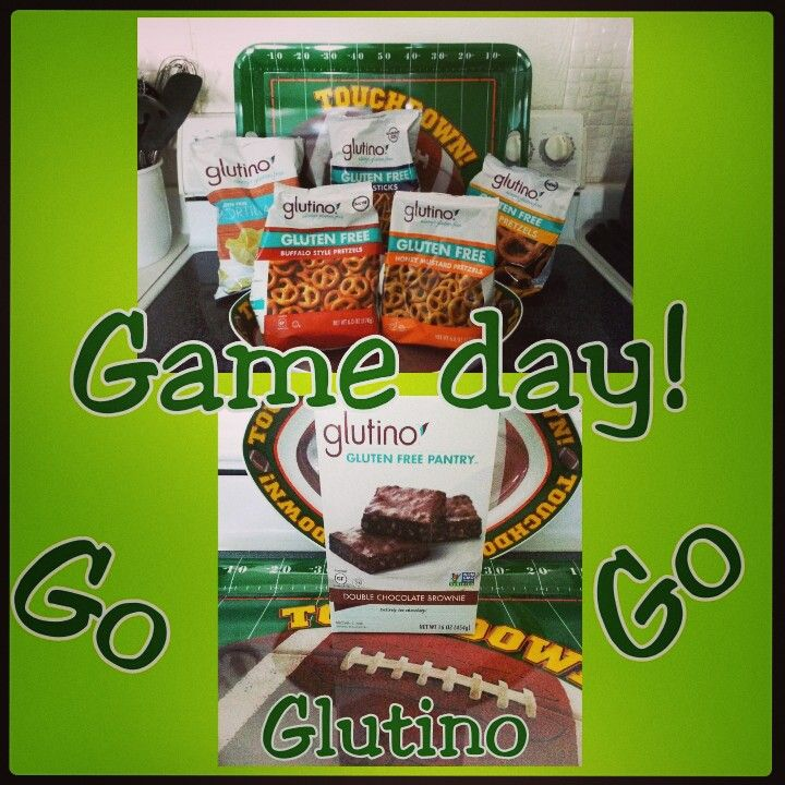 Game Day Spread Carolina Panthers 10 – 24 Denver Broncos  Final Even though my team that I was cheering to win lost ... I sure did score with my Glutino Game Day Spread ! Glutino's Pretzel...