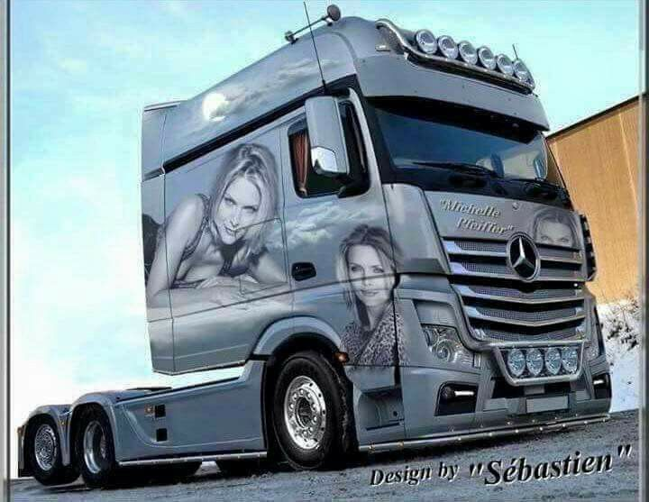 actros longline amazing trucks. Black Bedroom Furniture Sets. Home Design Ideas