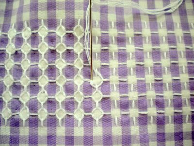(Embroidery Tutorial) || Harujion Design: Good Use of Gingham Check