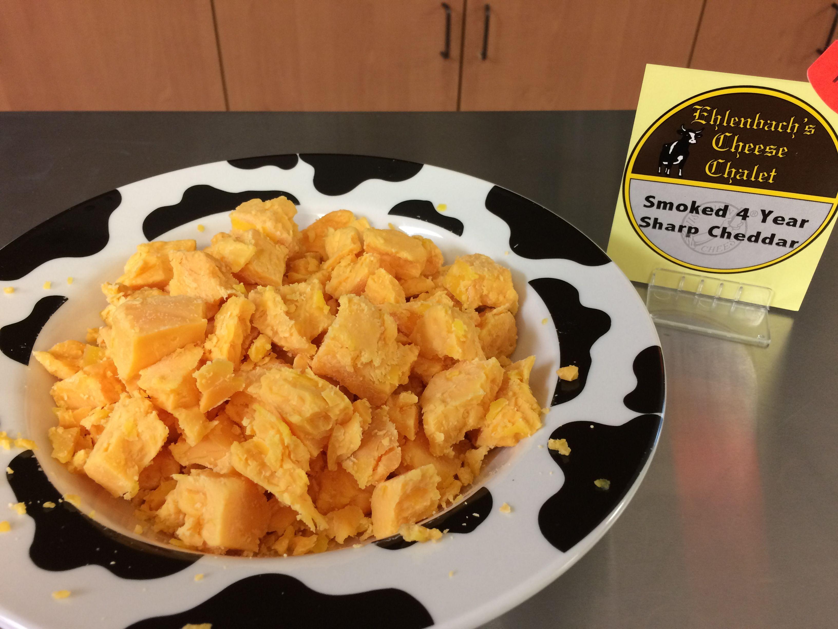 Applewood smoked 4 year sharp cheddar smokedcheese