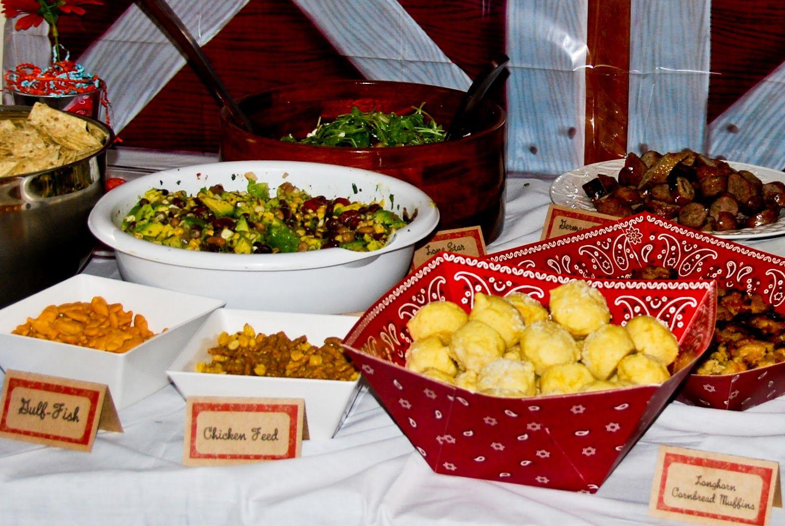 Cowboy Birthday Party Food Ideas
