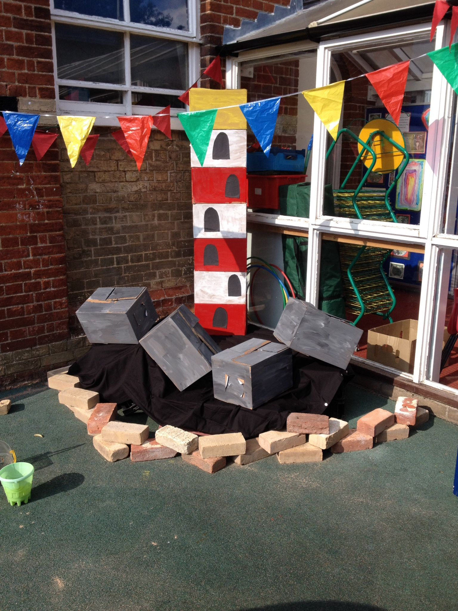 Lighthouse Based On The Book Lighthouse Keeper S Lunch Role Play Area