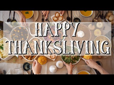 Turn your Thanksgiving into a THANKSLIVING!   Free Vegan Recipe Ebook! - YouTube
